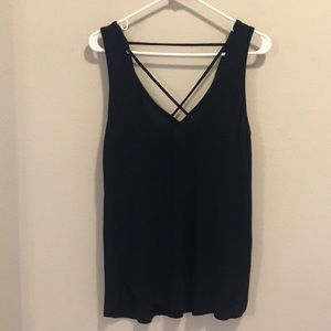 Guess Criss-Cross Strappy Tank
